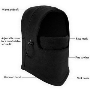 Fashion Warm Cap Winter Men Design Hats For Women Waterproof With Glasses Cool Balaclava Cycling Caps & Masks