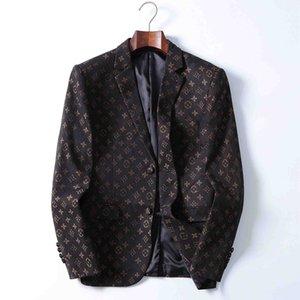 2020SS men western slim coat suits high-end banquet tuxedo men's peak lapel formal ball suit