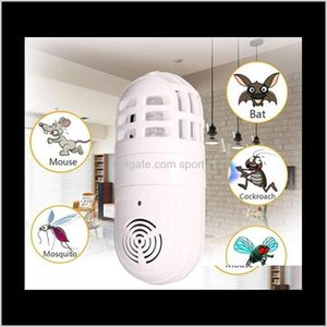 Sundries Home Garden Drop Delivery 2021 Electric Atomic Insect Zapper Household Ultrasonic Mosquito Killer Lamp Pest Control 50Pcs Ooa6882 Fq