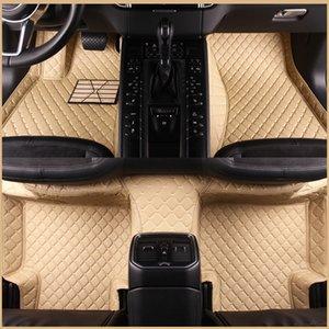 Custom Car floor mats for Toyota Land Cruiser 200 Prado150 120 Rav4 Corolla Avalon Camry C-HR Crown verso Mark X car styling liners