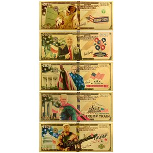 PE gold foil Funny Toys Frosted texture fake money Trump's originality doller commemorative coin astronaut First Blood Stallone