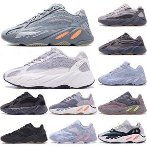 2021 700 V2 Runing Shoes 3M Statique Réflecteur pour hommes Femmes Wave Runner Solide Grey Magnet Teal Carbon Blue Designers Sneakers EUR 36-45