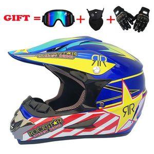 Motorcycle Helmets Off Road Helmet Full Face Dirt Bike Motocross Man Women Professional ATV Cross DH Cascos Para Moto