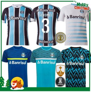 21 22 Grêmio Paulista Jerseys 2021 2022 Gilchmei Johnath Miller Luan Marlone Camisa Adulto Men