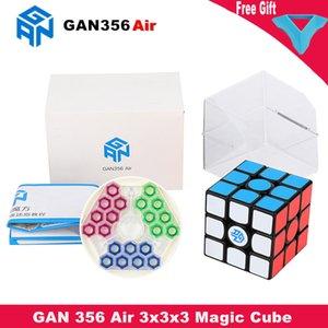 Gan 356 Air 3x3x3 Magic Cube 3x3 블랙 스피드 큐브 Gans Gan 356 Air Puzzle Cube 3x3x3 교육 장난감