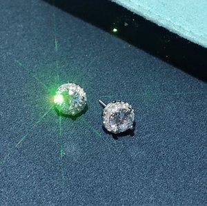 2021 Designer Earrings stud Luxury Jewelry Fashion Women Mens Earring Hip Hop Diamond Earings Iced Out Bling Rock party Wedding Gift
