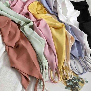 Camisole V-образным вырезом Cami без рукавов танки для женских дна с гладкими атласными сексуальными свободными вершинами и рубашками, изношенными за пределами женщин 210515
