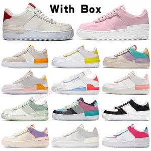 Platform Erkekler Kadınlar Gölge Ayakkabıları Beyaz Soluk Fildişi Klasik Siyah Kaykay Erkek Trainer Spor Sneakers 36-40
