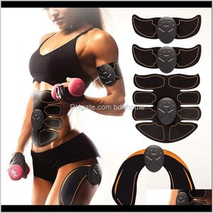 Training Equipment Athletic Outdoor Accs Sports & Outdoors Drop Delivery 2021 Ems Abs Stimulator Mas Electro Abdos Abdominal Muscle Trainer A