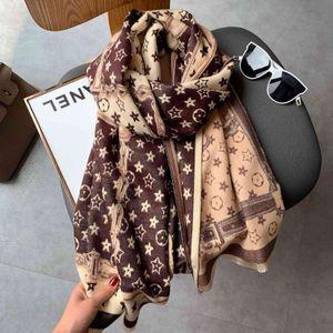 Luxury Brand scarves shawls Cashmere Scarf Women's Warm Shawl In Autumn Winter Head for Women 180*65cm
