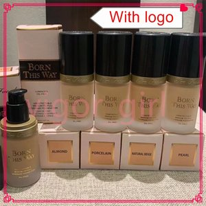 Hot Face Makeup Born This Way 4 Colors Foundation 30ml Liquid Concealer Luminous Oil Free Undetectable Medium to Full Coverage Foundations