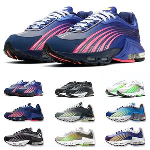Tn Plus 2 Tuned Running Shoes Chaussures Triple White Black Hyper Blue Green OG Neon Mens Womens Outdoor Trainers Sneakers Sports 5.5-10
