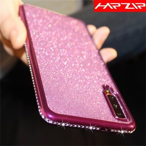 Fashion Glitter Rhinestone Soft Cover Case For Galaxy A10 A20 A30 A40 A50 A60 A70 J4 J6 A6 A8 2021 S10 Plus S10e A505FN Cell Phone C Cases