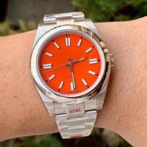 Бесплатная транспортная партия подарки качества мужские часы женщины красный розовый 2813 автоматическое механическое движение нержавеющую сталь наручные часы мужские спорт