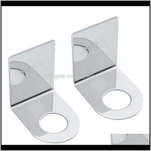 Storage Organization Shampoo Holder Hook Stainless Steel Adhesive Wall Mounted Bottles With Pump Dispenser For Shower Kitchen Bathroom Xyfni