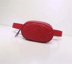 Wholesale New Fashion Leather Handbags Women Fanny Packs Waist Bags Handbag Lady Belt Chest bag 4 colors