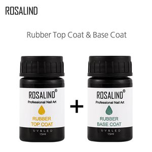 PerfectionsROSALIND Nail Polish Rubber 15ml & 30ml Nail Gel Lacquer Soak off UV Base & Top Coat Semi Permanent Gel Varnish