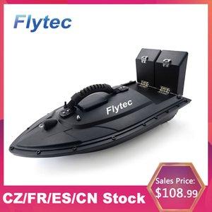 Flytec 2011-5 Fish Finder 1.5kg Loading 5.4km h High Speed 500m Remote Control Fishing Bait Boat DoubleMotors RC Boat