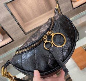 Moda Masculina e Mulheres Bags Bags Estilo Estilo Padrão de Carta One-ombro Diagonal Peito Saco de Alta Qualidade WF2103261