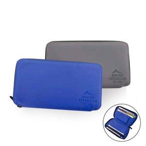2021 New Men's Fashion Business Leisure Long Waterproof Wallet Multi Card Zipper Bag Zerowallet