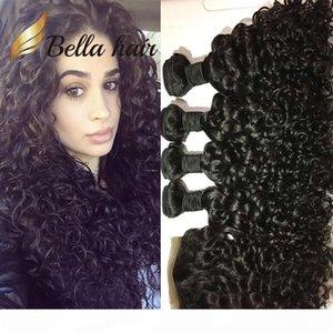 Bella Hair?8A 5pcs lot Peruvian Hair with Top Closure Virgin Human Hair 4 bundles with closure Water Wave Weave Bundle with Lace Closure