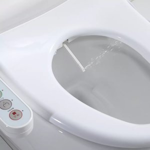 factory supply Smart toilet seat Electric Bidet cover heat double nozzle cleaning with warm air