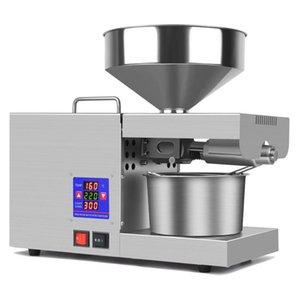 110V 220V Automatic Household Linseed Oil Press Sesame Peanut 950W Intelligent Temperature Control 3-8Kg H Pressers