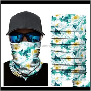 Cycling Caps Masks 3D Scarf Neck Bandana Warmer Gaiter Half Face Mask Men Women Head Bandanas Shield Headband Headwear Drop1 Lib9H Qgsau