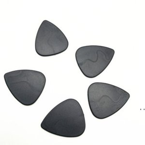 Smoking Accessories Triangle Black Plastic Pollen Scrapers for Herb Grinder Shovel tabacco Guitar Pick OWD6202