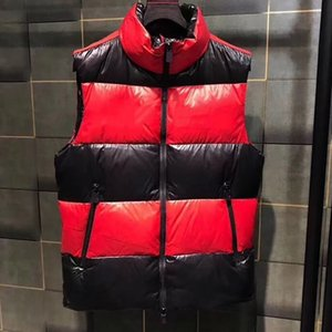 Жилеты Дизайнерская Куртка Даун Жилет Мужские Женщины Пальто Мода Жилет Жутки Мужчины Верхняя одежда Даунс Пальто Без Рукавов Верхняя Осень зима