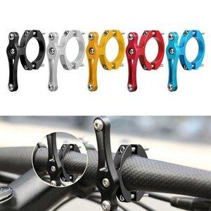 Bicicleta Agua Botella Soporte Adaptador Aluminio Aleación Handarbar Taza Soporte Soporte Clip Clamp Accesorios Botellas Jaulas