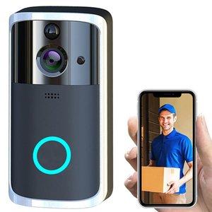 Video Door Phones WiFi Visual Phone Bell Wireless Smart DoorBell Camera 2way Audio Infrared Night View PIR Motion Sensor