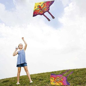 Outdoor Funny Colorful Butterfly Flying with 30m Line Children Game Kids 95*85cm Toy Kite M5P2