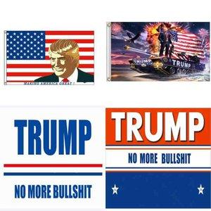 مظهر أنيق العلم الرئاسة الولايات المتحدة الانتخابات ترامب 2024 عالية المتانة راية الأعلام نايلون مربع لا أكثر 90 * 150 سنتيمتر 8 5HH Y2
