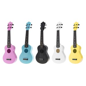 Soprano 21 Inch Solid ABS Children Kids Ukulele with 4 Strings