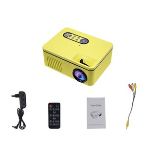 DHL SHIP S361 Projector Portable Mini LED Projectors for Home Office Meeting Overhead 12V 2A 4 Colors