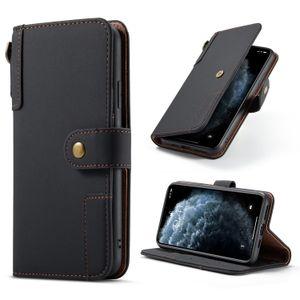 Cajas de teléfono de cuero de PU estilo de cartera con soportes de tragamonedas de varias tarjetas para iPhone 12 12PROMAX 12PRO 11 MAX XS XR 6 7 PLUS SAMSUND GALAXY S21 S20 Ultra Note 9 Funda protectora