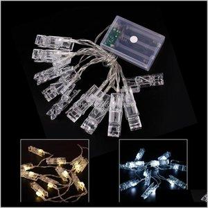Other Event Supplies Qifu Led Copper Wire Lights Birthday String Fairy Light Wedding Decor Bachelorette Party Wmtrwt 35Sfg Ciwgz