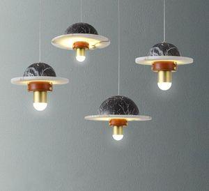 Nordic post-modern Pendant Lamps creative bar clothing store restaurant  model room cosmic lights