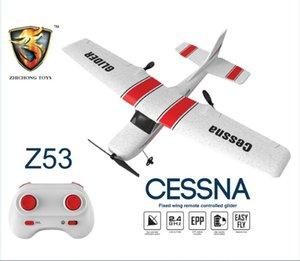 Z53 Medium Foam Simulators Gliding Aircraft Model Camera GPS Drone Mini Drones Real-time Transmission FPV Dual Cameras Foldable RC Quadcopter Toy