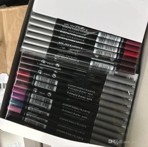 Sıcak kaliteli en düşük en çok satan iyi satış yeni eyeliner lipliner kalem on iki farklı renkler