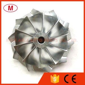 GT28 49.70 67.40mm 10+0 blades Turbo Billet compressor wheel Milling wheel for Racing 446179-0094 816366-0001 Turbochrager Cartridge CHRA Core