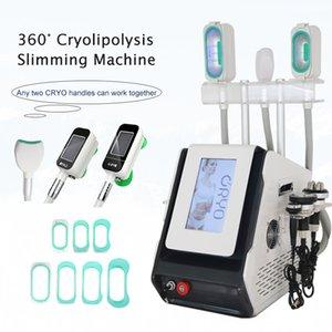 360 cryo fat frezzing slimming machine RF Ultrasound cavitation lipo lazer body slim equipment with CE approved