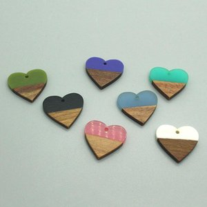 2 4 6Pcs Bohemian Vintage Love Heart Pendant Accessory Mix Charms For Earrings Keychains Necklace Handmade Jewelry Make