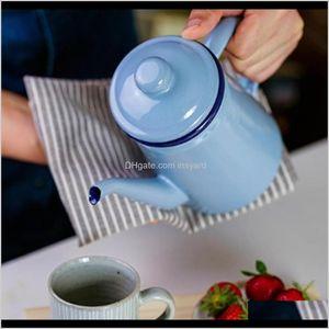 Teapots 1L Pour Over Gooseneck Coffee Tea Pot Water Kettle Easy Pouring 83Iqb Mkwdx