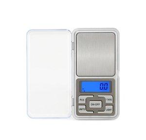 Mini-Tasche digitale Skala für goldene Sterlingsilber-Schmuckbilanz Gramm elektronische Waagen 100g / 200g / 500g x 0,01 g /0,1G/ VT0026