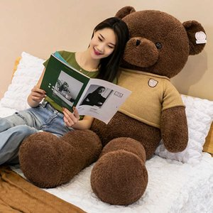 Non lengthened thin version original teddy doll oversized cuddle bear plush toy Girl Doll
