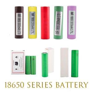 Baterías digitales HG2 30Q VTC6 3000MAH INR18650 LG 25R HE2 He4 2500mAh VTC5 2600MAH VTC4 18650 Batería E CIG MOD recargable