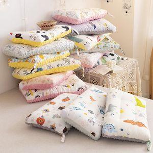 Pillows Nordic Cartoon Children's Doudourong 60s Cotton Comfort Baby Kindergarten Pillow Core