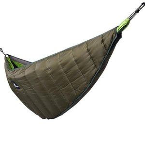 Outdoor thick hammock warm cover spring and autumn sleeping bag leisure